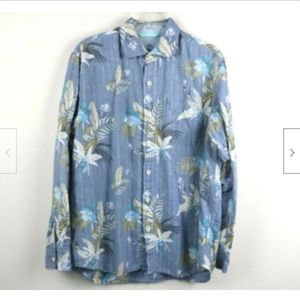 Tommy Bahama Mens Shirt Button Up Hawaiian